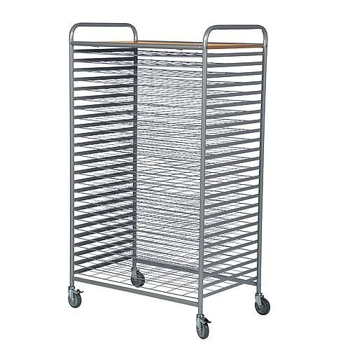 Drying Trolley With 25 Levels No Of Shelves 26