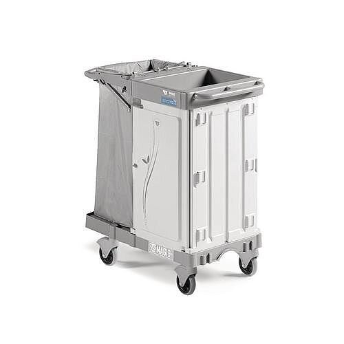 Compact Maid Service Trolley Suitable For 8 To 10 Rooms Capacity 20kg