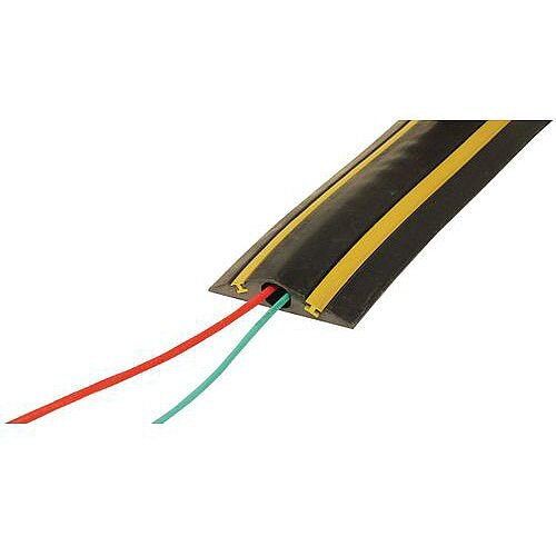 Temporary Traffic Calmer And Cable Protector 1x20mm Circular Channel