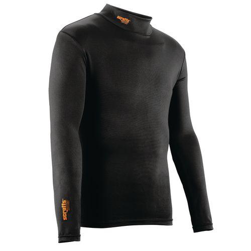 Scruff Thermal Work Baselayer Top Size XL Black