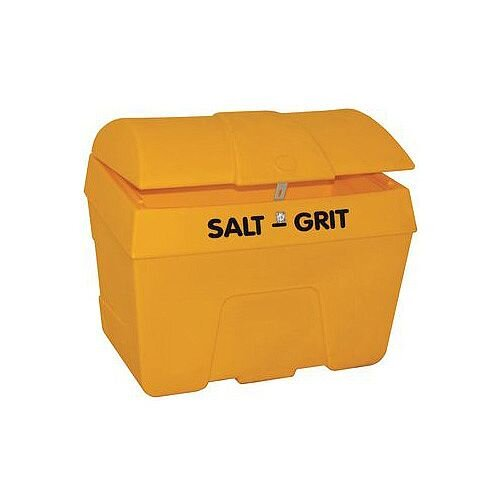 200L Grit Bin With Hasp
