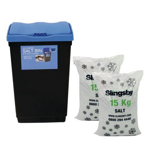 47L Economy Salt And Grit Bin Kit