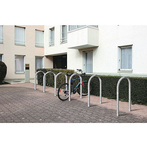 Sheffield Style Cycle Rack Grey