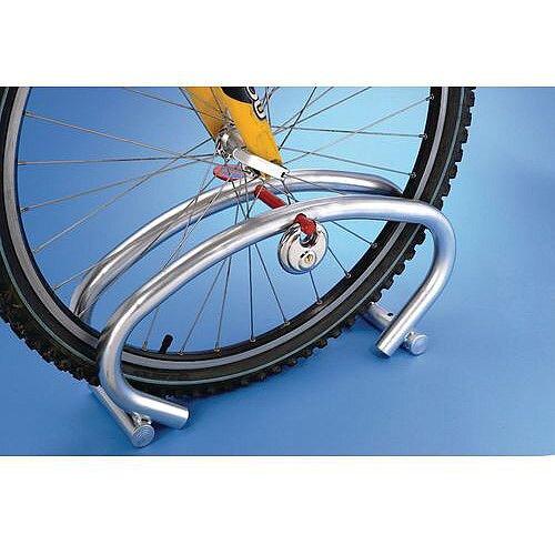 Single Cycle Parking Rack With Padlock
