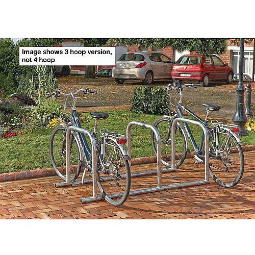 Toast Style Cycle Rack 8 Bike Capacity
