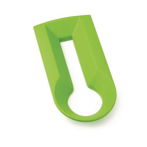 Ubin Insert Green Handle Recycling Waste Bin System