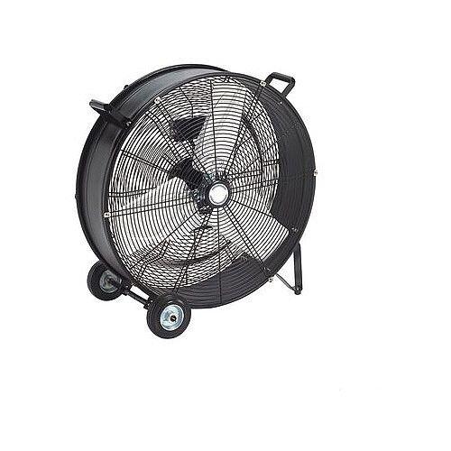 605mm Drum Fan Black
