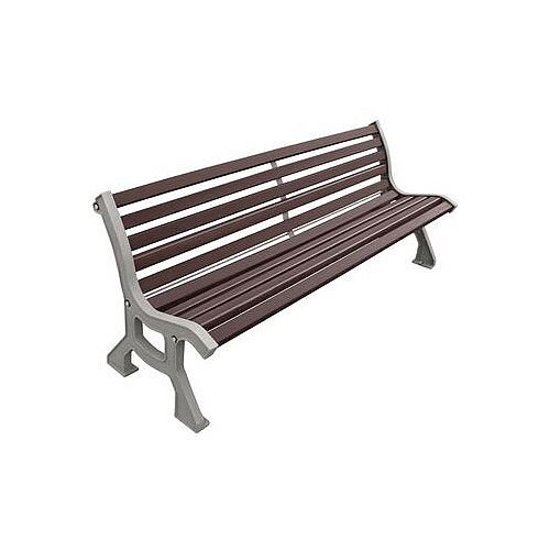 Pleasant Classic Cast Steel And Wood Bench Seat Pabps2019 Chair Design Images Pabps2019Com