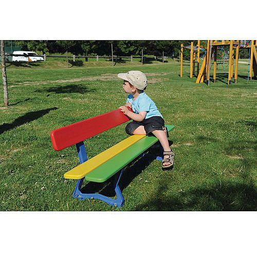 Wood &Steel Childrens Seat Multi-colour