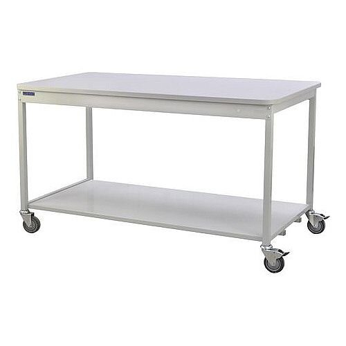 Bench With Open Storage With Lower Shelf Mobile H840 x D900 x L1530mm
