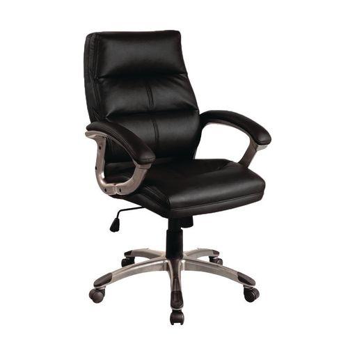 Medium Back Executive Office Armchair Black