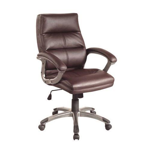 Medium Back Executive Office Armchair Brown