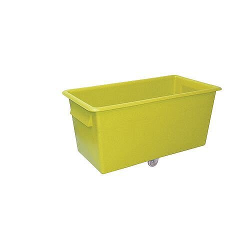 300 Litre Coloured Truck Yellow