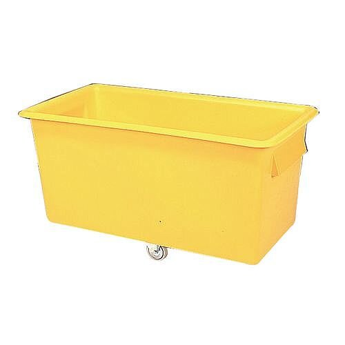 400 Litre Coloured Truck Yellow
