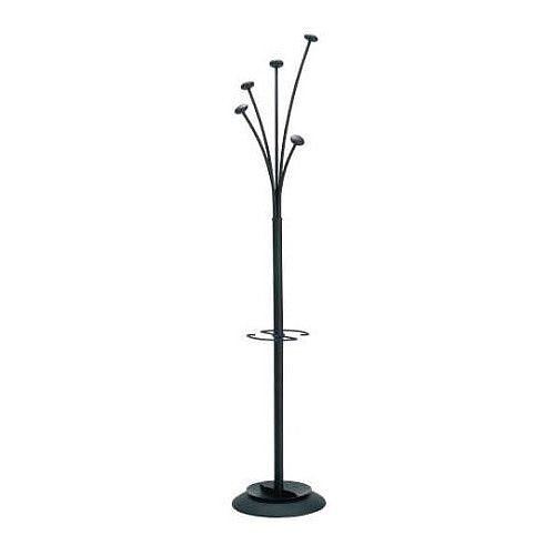 Contemporary Coat And Umbrella Stand Black