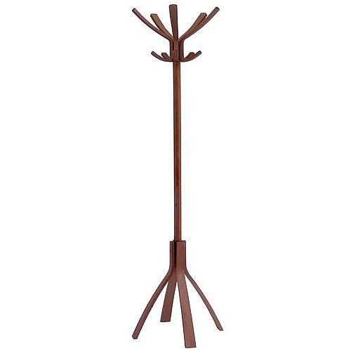 Classic Wood Bistro Coat Stand