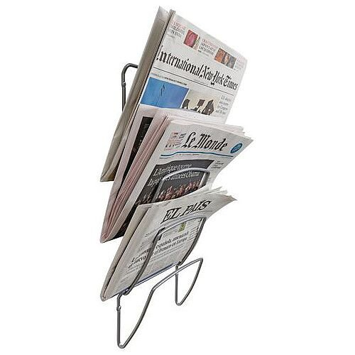 Wall Mounted Newspaper Display Holder