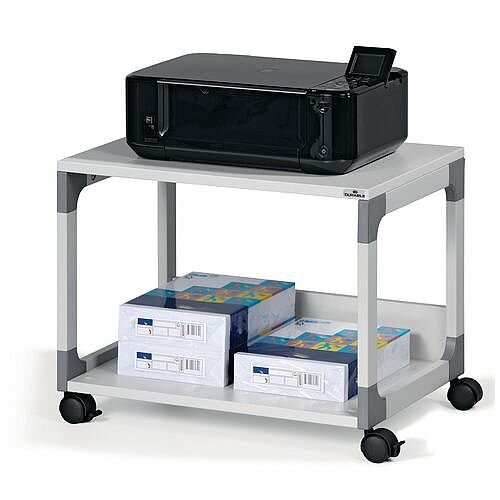 Office Multi Function &Printer Trolley Grey
