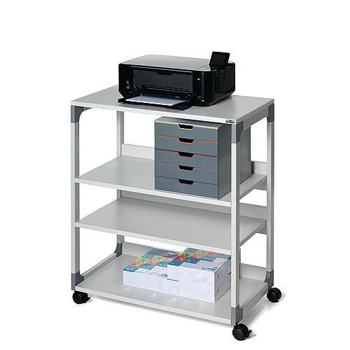 System Multi Function Trolley 88 With 4 Levels Grey