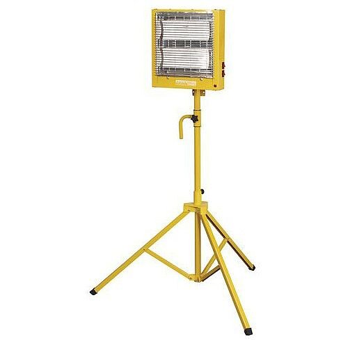 Ceramic Heater And Stand 110V