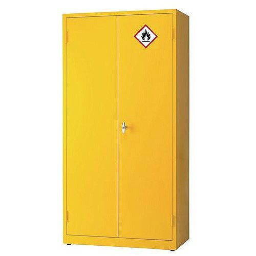 3 Shelf Premium Hazardous Cabinet HxWxD mm: 1830x915x459
