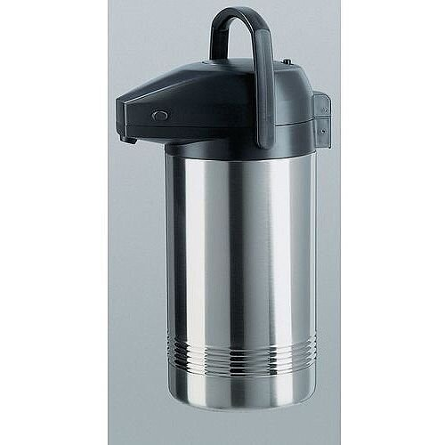 Insulated Thermal Jug Pump Vacuum Flask Stainless Steel Capacity 3.8L