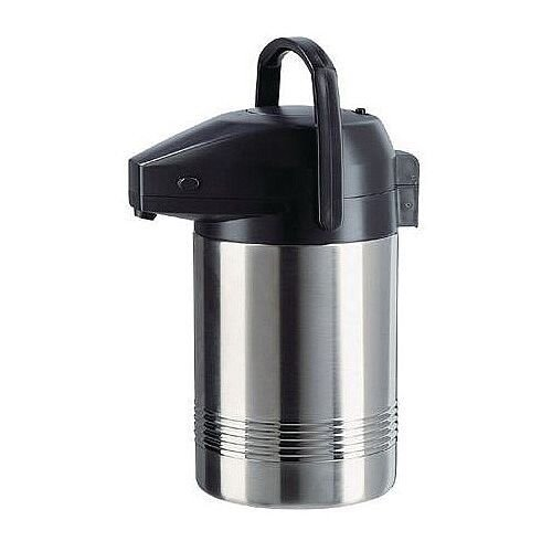 Insulated Thermal Jug Pump Vacuum Flask Stainless Steel Capacity 2L
