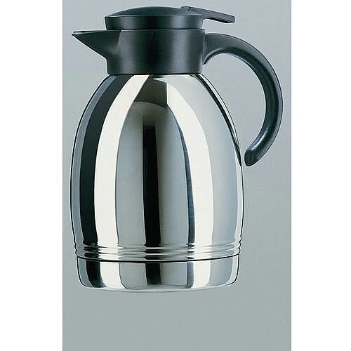 Thermal Carafe Vacuum Flask Stainless Steel Capacity 1.3L Pack 2