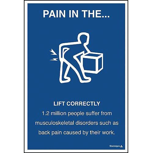 Pain In The Lift Correctly 760X510 Paper