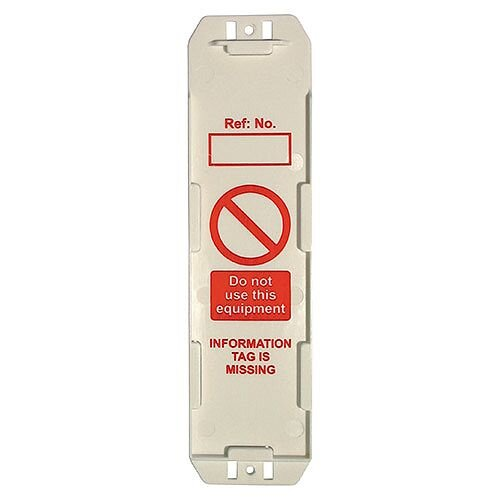 Ladder Safety Management Tags 280x80mm Pack 10