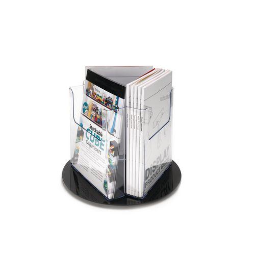 Revolving Literature Holder Pocket Size A4