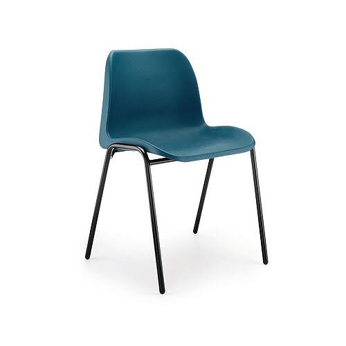 Polypropylene Stacking Chair Blue