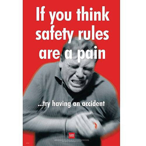 Sign If You Think Safety Rules Are A Pain