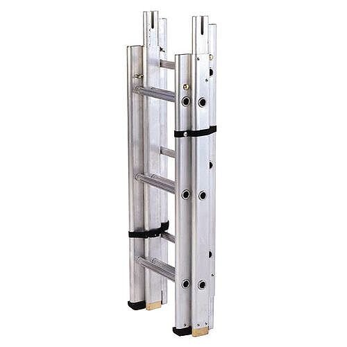 Sectional Surveyors Ladder 5 Sections 15  Extended Height 4500Mm 175kg