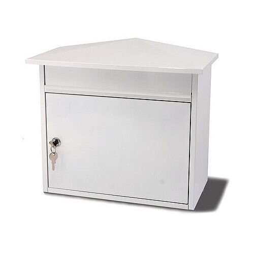 Extra Large Post Box White