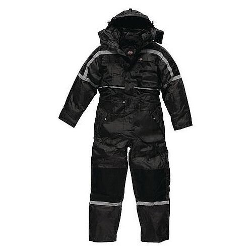 Dickies Waterproof Padded Coverall Size S Navy