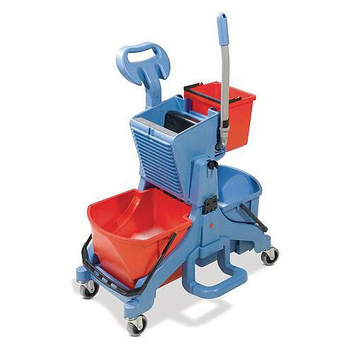 Mid Mop Double Bucket System To Suit All Mops