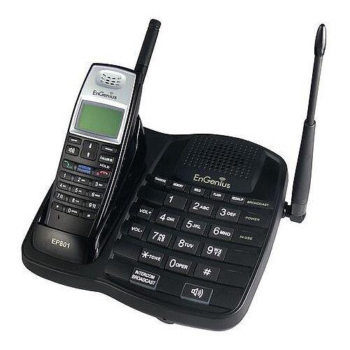 Long Range Cordless Telephone Base Station And Handset