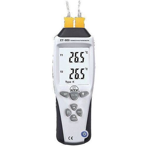 Hi-Accuracy Dual Input K &J Type Thermometer