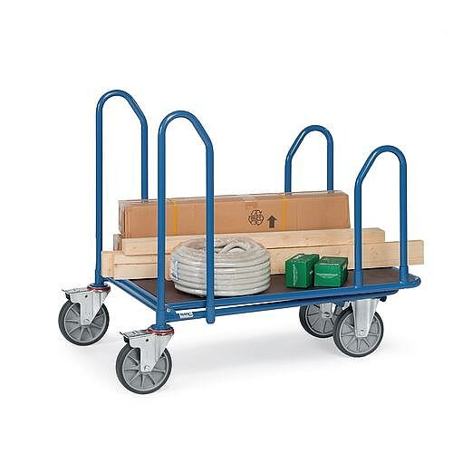 Long Load Cash &Carry Trolley Platform Capacity 400kg HxDxL 945x500x850mm