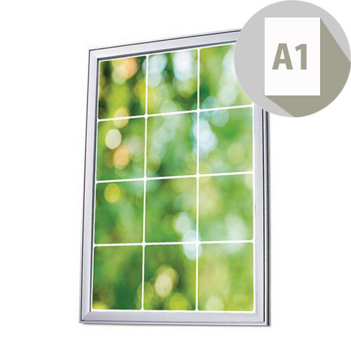 Premium Wall Mounted Poster Snapframe A1
