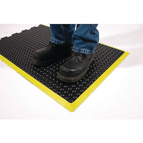 Bubblemat With Yellow Edge 0.9M X 1.2M