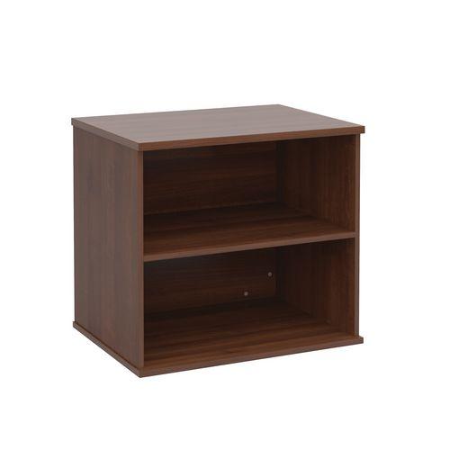 Office Desk High Bookcase Walnut