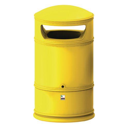Heritage Lite Bin Yellow 100L