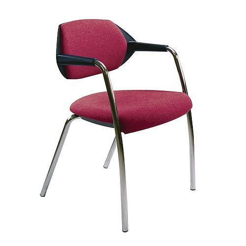 Conference &Vistor Chair Carnation Red
