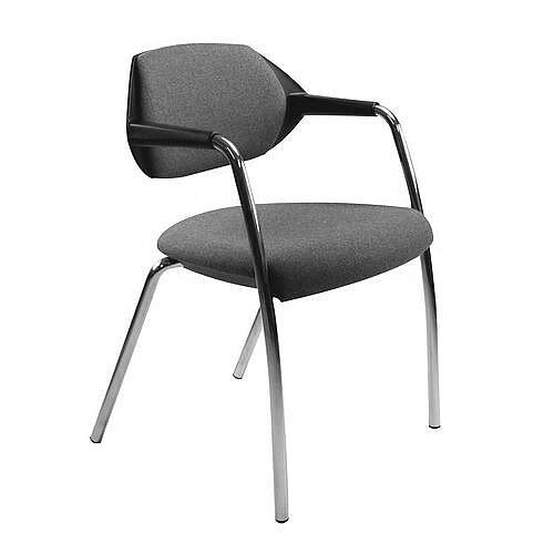 Conference &Vistor Chair Stone Grey