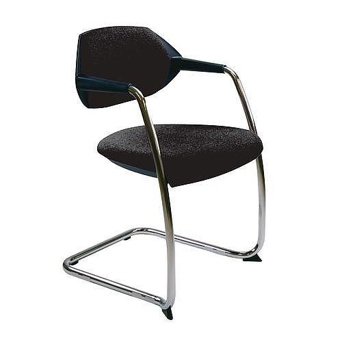 Flex Conference &Vistors Cantilever Chair Charcoal