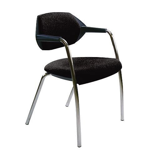 Conference &Vistor Chair Charcoal