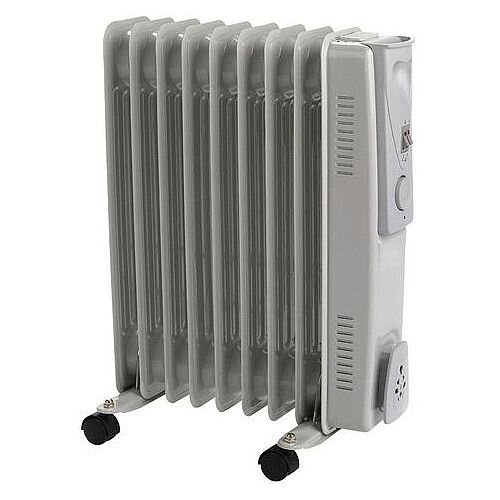 Oil Filled Radiator 2000W - Over Heat Protection, Various Heat Settings &Cable Management. Ideal for Any Home, Office &More!