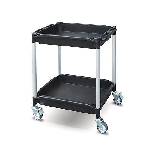 Plastic Tray Trolley No Of Trays 2